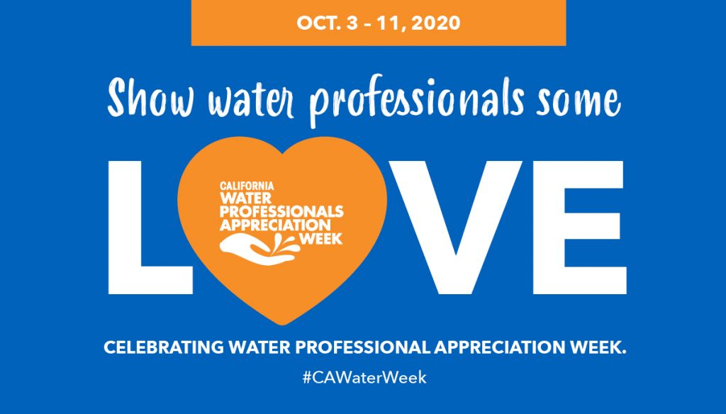 Show water professionals some love graphic submitted by ACWA