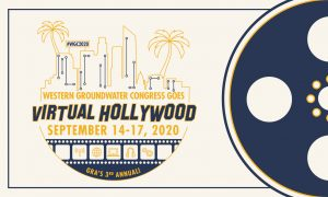 logo for Western Groundwater Congress Virtual Hollywood conference